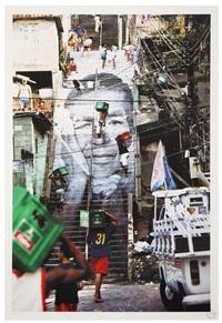 women are heroes, escaliers, favella morro da providencia, rio de janeiro by jr