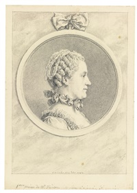 madame élie catherine freon, née thérèse guyomar by charles nicolas cochin the younger