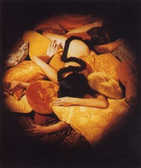 untitled (yellow pillows) by julie an