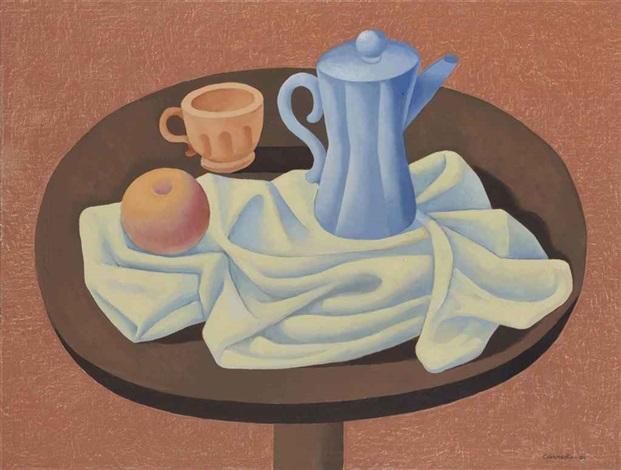antes del desayuno (from the series objetos sobre la mesa) by mario carreño