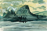 from talloires i lake of annecy by john piper