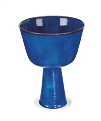chalice by gertrud and otto natzler