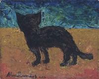 seaside cat by alan lowndes