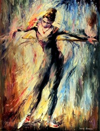 dancer-2 by leonid afremov
