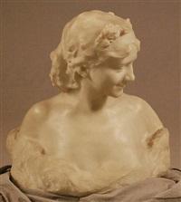 buste de jeune femme by alfred courtens