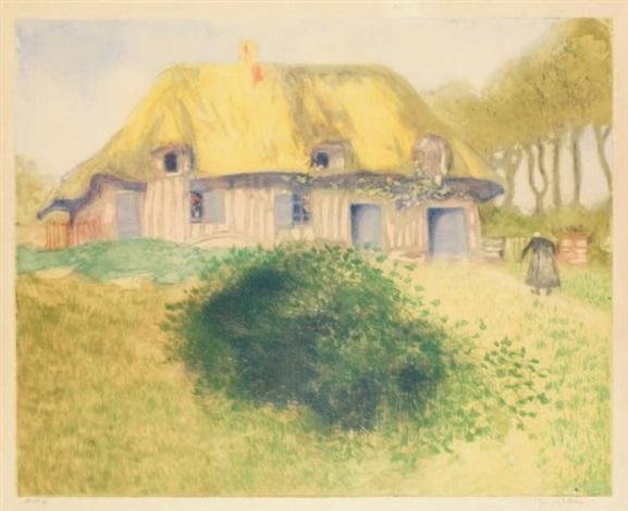 la ferme de la bendelière by jacques villon