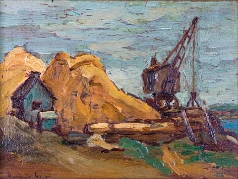 sand pile by marjorie earle gass
