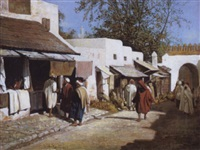 straat te tanger by adolfo aguila acosta