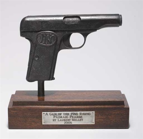 a gun of the rising padraig pearse by laurent mellet