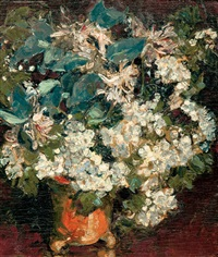 bunch of flowers by arthur illies