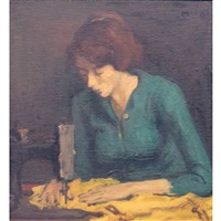 seamstress by moses soyer