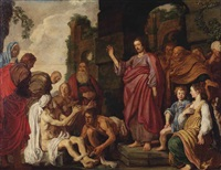 the raising of lazarus by pieter lastman
