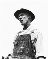 j.m. reese, hillhouse, miss., in the delta area by dorothea lange