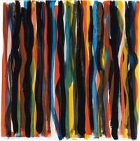 untitled (vertical brushstrokes) by sol lewitt