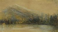 rundle range, banff by frank milton armington