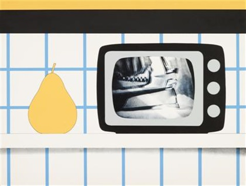 tv still life from 11 pop artists volume iii by tom wesselmann