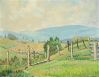 mount terrible, weston, vt by ethel paxson