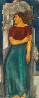 mujer by roberto montenegro