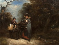the roadside market by william mulready
