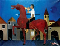 el caballo rojo by eduardo alcoy