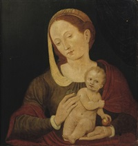 the virgin and child by vincent sellaer