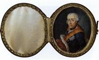 altersbildnis friedrich ii v. preußen by anton friedrich könig