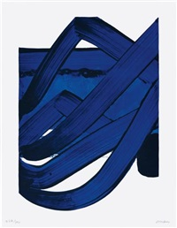 composition, from the official arts portfolio of the xxivth olympiad, seoul, korea by pierre soulages