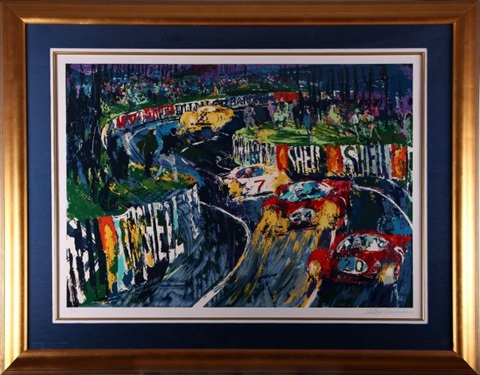 24 hours at le mans by leroy neiman