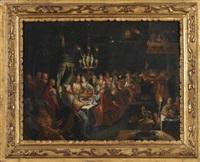 le festin de balthasar by lucas van valkenborch