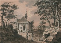 la chapelle de guil. tell prés de kussnacht by johann conrad gessner