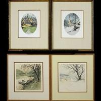 heiligenblut, austria; klosternenburg, austria; himmelstrasse; untitled (4 works) by luigi kasimir