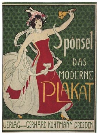 das moderne plakat by jean louis sponsel