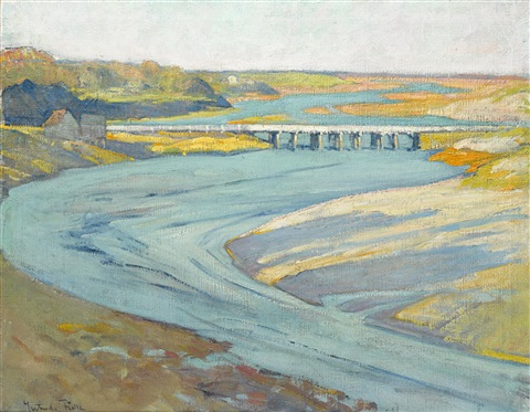 tide river by gertrude fiske