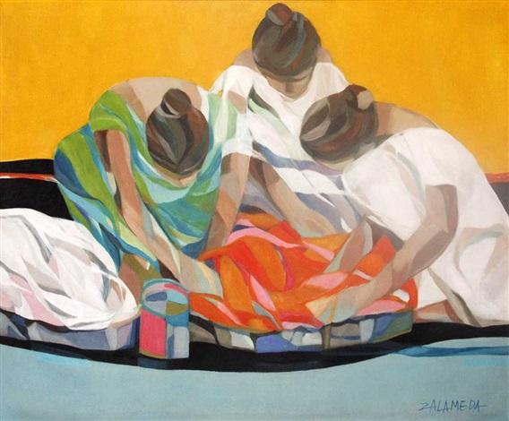 Tres Lavanderas By Oscar Zalameda On Artnet