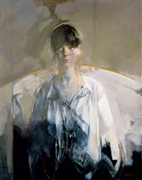 the girl in white no. 2 by jiang jianzhong