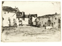 liverdun (from twelve etchings from nature) by james abbott mcneill whistler