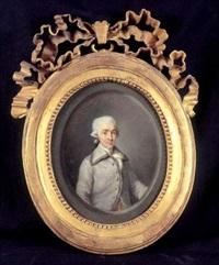 portrait de hans axel, comte de fersen (1755-1810) by étienne charles leguay