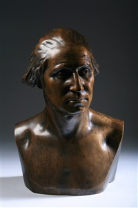 bust of george washington (after houdon) by james wilson alexander macdonald