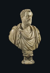 bust of an emperor, possibly antoninus pius by baccio bandinelli