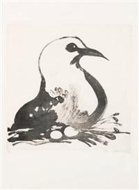 seagull by brett whiteley