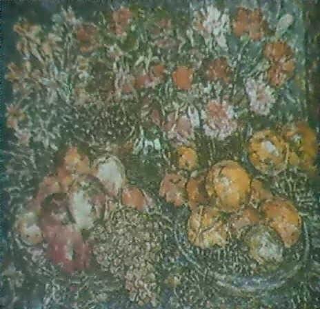 nature morte aux fruits et aux fleurs by rady rautovich yakubov