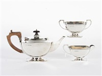 tea set (set of 3) by e.w. haywood