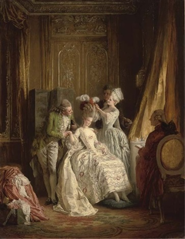 marie antoinette by heinrich lossow