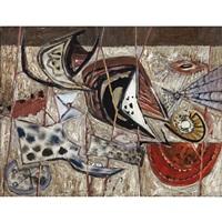untitled - abstraction by jack leonard shadbolt