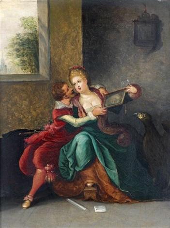 allégorie des cinq sens 5 works by louis de caullery