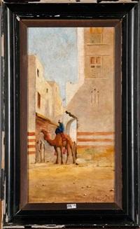 ruelle animée en afrique du nord by john coulson