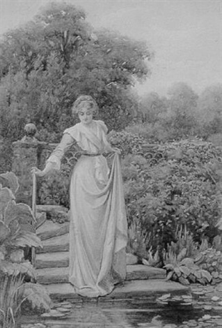 the lily pond by william f. ashburner