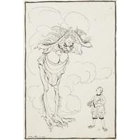 aladdin and the lamp by arthur rackham