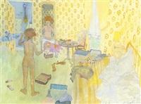 interior by leonard rosoman