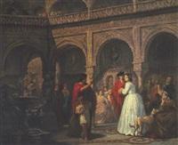 die überraschende begegnung in einem spanischen palast by gerritt postma